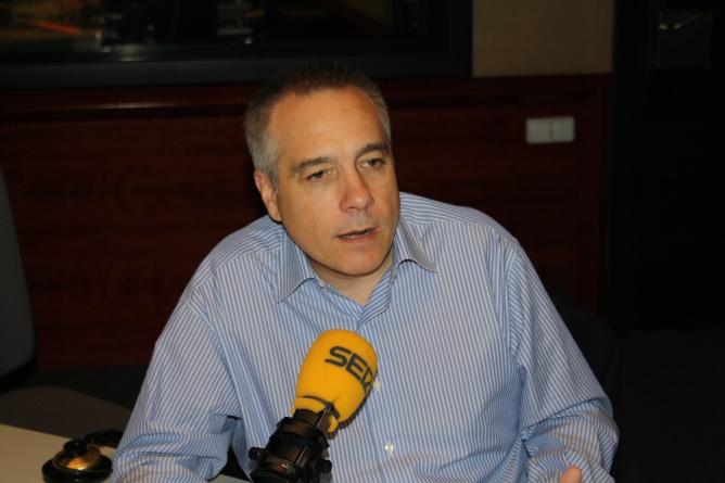El lider del PSC, Pere Navarro