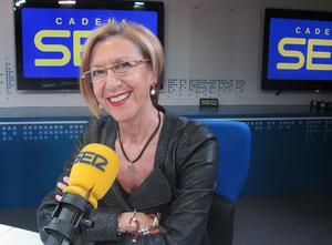 La portavoz y diputada de UPyD, Rosa Díez, en 'Hoy por hoy'