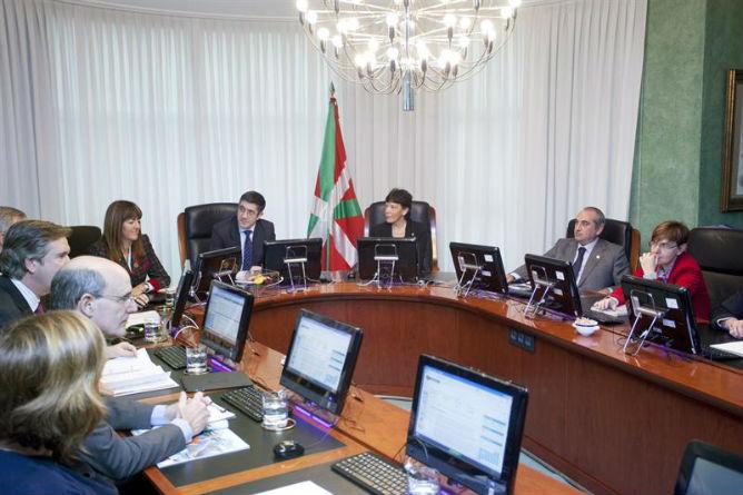 El Consejo de Gobierno vasco, en su última reunión esta mañana