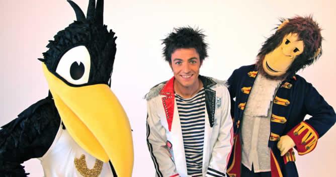 Fotografía del musical Peter & Jack