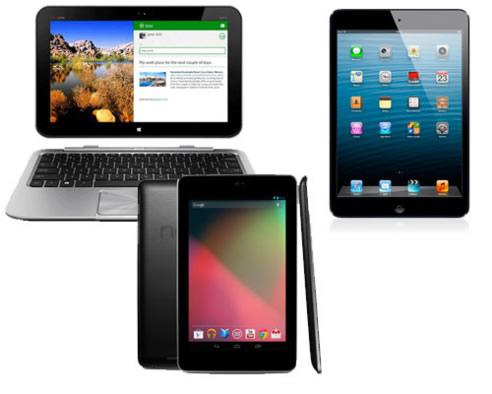 Las tablets van a ser el regalo estrella de estas Navidades