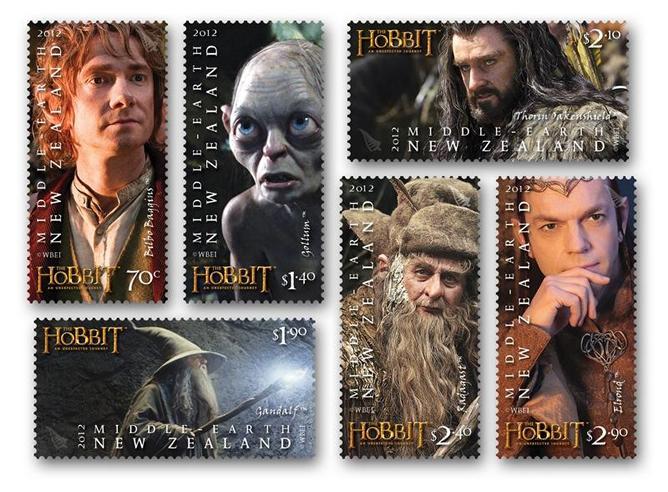 La colección de sellos de 'El Hobbit'