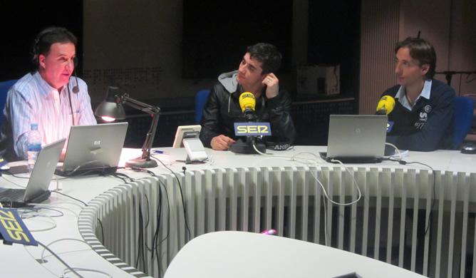 El patinador Javier Fernández, en 'El Larguero'