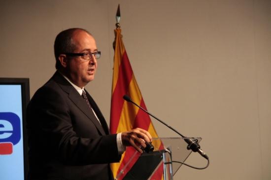 Imagen de archivo del conseller de Interior, Felip Puig