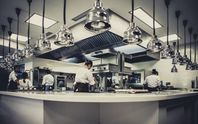 Imagen de la cocina del restaurante Mugaritz, considerado por la revista 'Restaurant' como el tercer mejor restaurante del mundo.