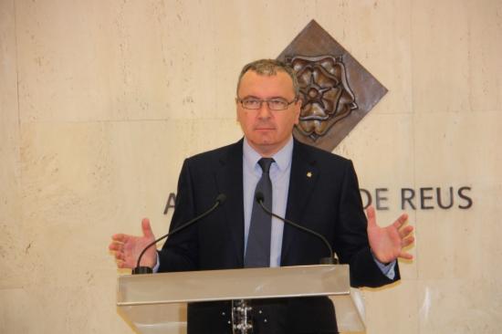 L'alcalde de Reus, Carles Pellicer, en una imatge d'arxiu.
