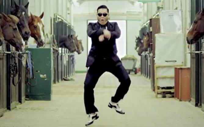 Imagen del videoclip de 'Gangnam Style', la canción que más ha sonado durante el 2012