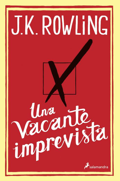 Esta es la portada del nuevo libro de J. K. Rowling que sale a la venta este miércoles en España y América Latina