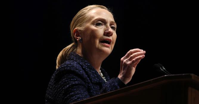 Hillary Clinton, en una imagen de archivo