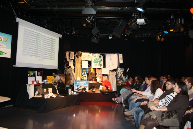 Una imatge de l'edició 2012 de Cap Nen Sense Joguina, a l'estudi Toreski de Ràdio Barcelona