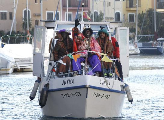 FOTOGALERIA: Los Reyes Magos llegan a Alboraya (Valencia)