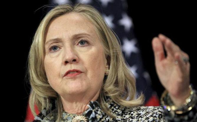 La secretaria de Estado estadounidense, Hillary Clinton, retoma sus funciones tras haber sido tratada de un coágulo en la cabeza
