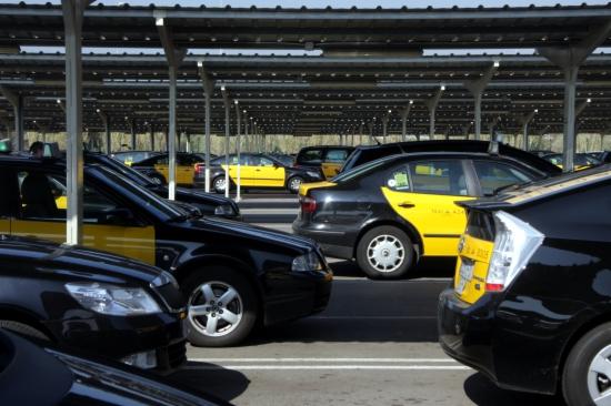 Taxis a l'aeroport de Barcelona