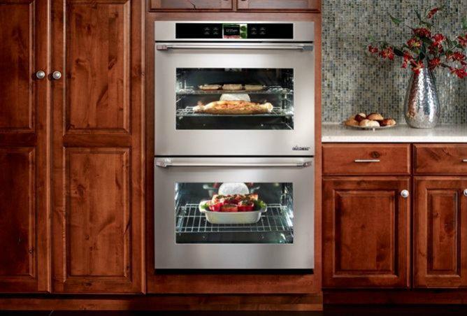La última generación de hornos incorpora una pantalla táctil con la que controlar el electrodoméstico y entretenerte con las aplicaciones para Android