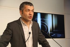 El portaveu adjunt del grup parlamentari d'Esquerra, Oriol Amorós
