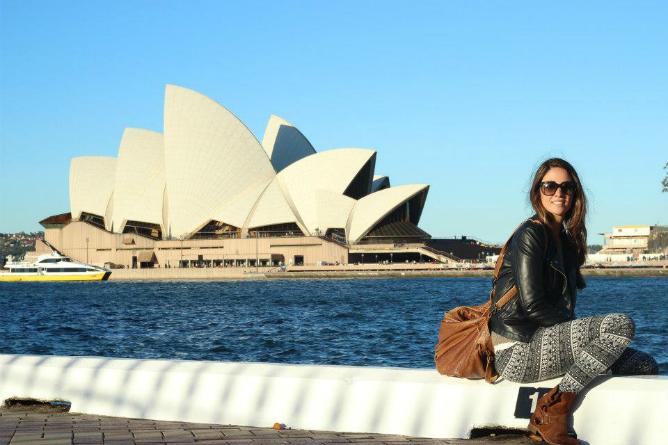 María es de Valencia, tiene 27 años y estudió Administración y Dirección de empresas. Hace dos años decidió buscar su suerte en Australia