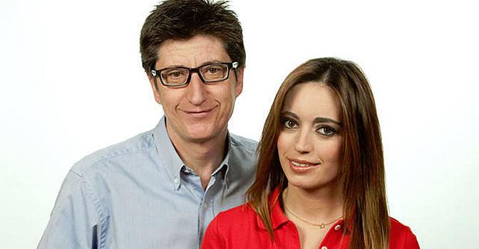 Juan Carlos Rivero y Jennifer Jáñez