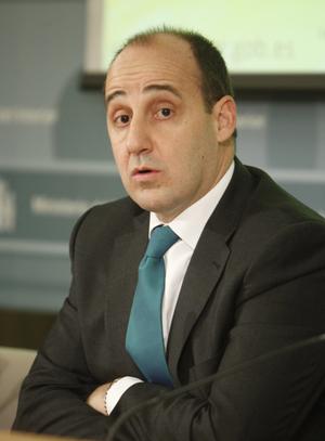 Ignacio Ulloa, durante la presentación del balance de la lucha contra la inmigración ilegal correspondiente a 2011