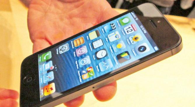 Caen las ventas del iPhone 5