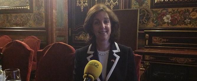 La Secretaria Adjunta para Latinoamérica del Gobierno de Obama, Roberta Jacobson, durante la entrevista