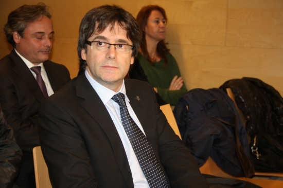 L'alcalde de Girona, Carles Puigdemont