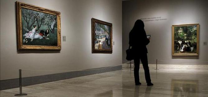 Foto de archivo del Museo Thyssen de Madrid