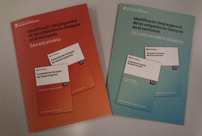 Els fulletons que el Departament d'Ensenyament distribuirà entre els docents per impulsar la nova metodología