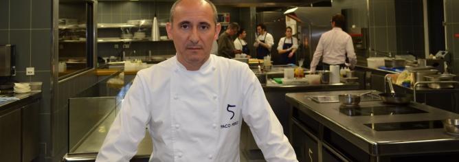 Un buen continente que se complemente con buen contenido. Esa es la máxima que persigue el chef catalán.
