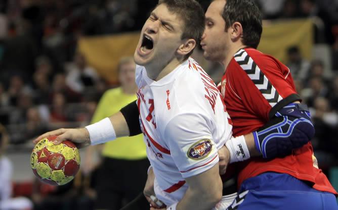 España se mete en cuartos de final tras dar un golpe de autoridad frente a Serbia