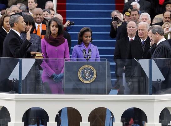 FOTOGALERIA: La jura de Barack Obama