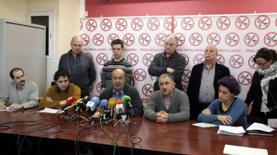 Les entitats socials i sindicals que formen la plataforma 'Prou Retallades' han presentat aquest dimarts un memoràndum amb propostes per mantenir l'estat del benestar a Catalunya
