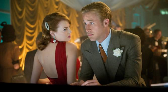 Emma Stone y Ryan Gosling  protagonizan 'Ganster Squad'
