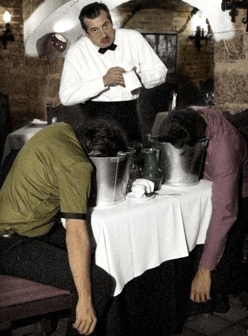 El trío de Úbeda en una fotografía promocional