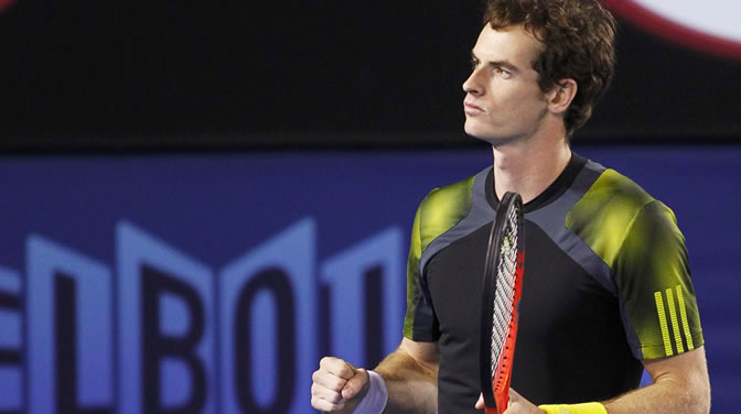 Andy Murray celebra la victoria