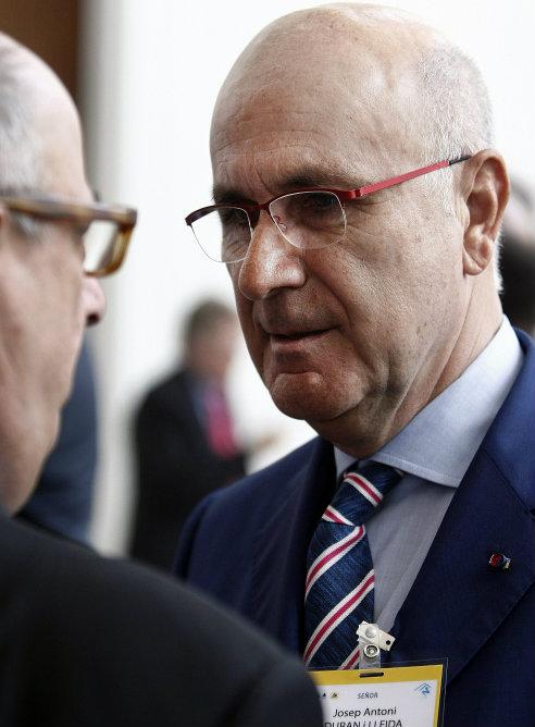 El diputado español Josep Antoni Duran i Lleida, en la sexta sesión plenaria de la Asamblea Parlamentaria Euro-Latinoamericana (Eurolat) en Santiago de Chile