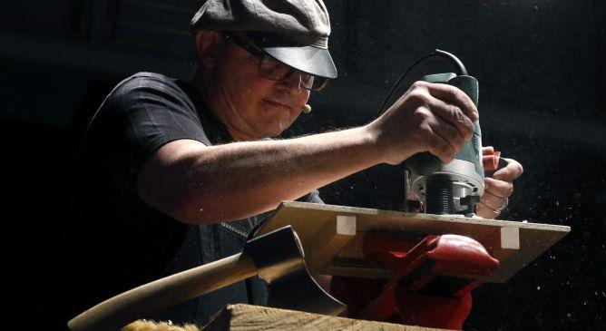 El suizo Stefan Wiesner, apodaod 'el druida', se define como un filósofo de la cocina.