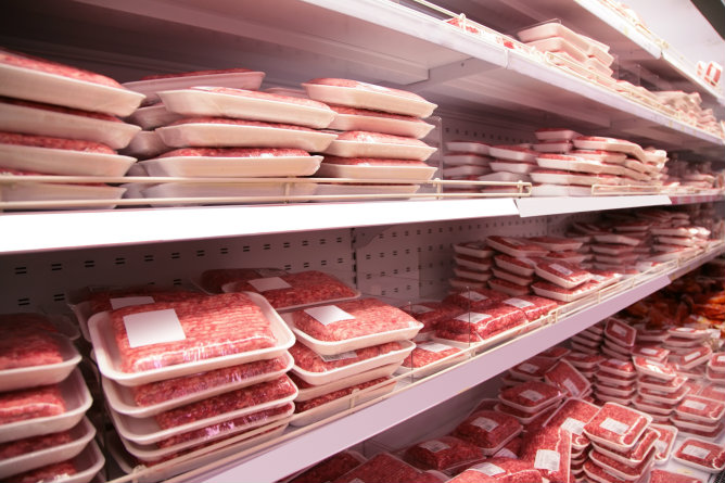 Las hamburguesas que compran los consumidores en los supermercados no siempre son 100% vacuno