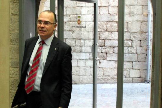 Jaume Torramadé arriba a la Diputació per declarar davant la comissió que investiga el cas de Minerva Amador