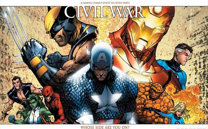 Civil War, la última de Marvel.