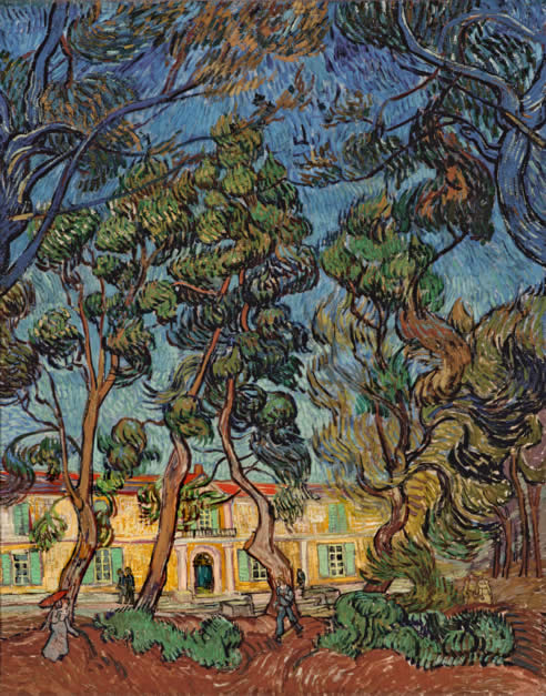 Hospital de Saint Remy, de Van Gogh