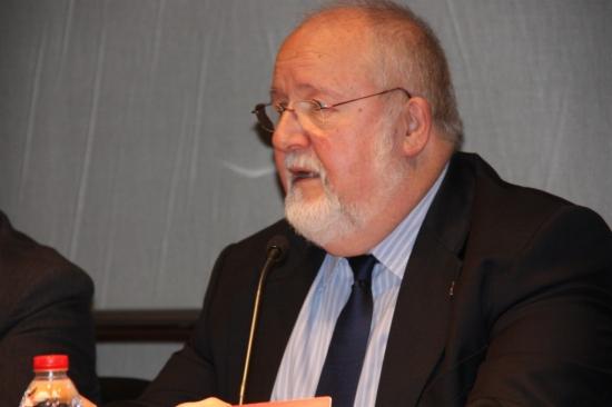 El president de la Diputació de Barcelona, Salvador Esteve