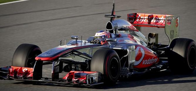 El británico ha sido el más rápido en la primera sesión de entrenamientos de pretemporada del circuito de Jerez.