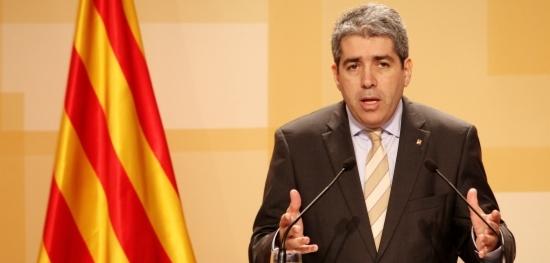El conseller de Presidència, Francesc Homs