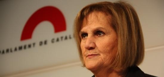 La presidenta del Parlament, Núria de Gispert