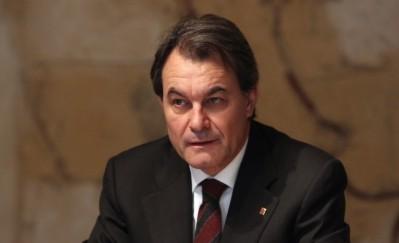 El President de la Generalitat, Artur Mas