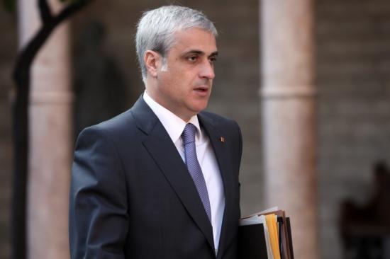 El conseller de Justícia, Germà Gordó