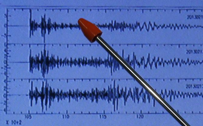 El director de la Agencia de Meteorología Japonesa señala el terremoto registrado en Japón tras la prueba nuclear norcoreana