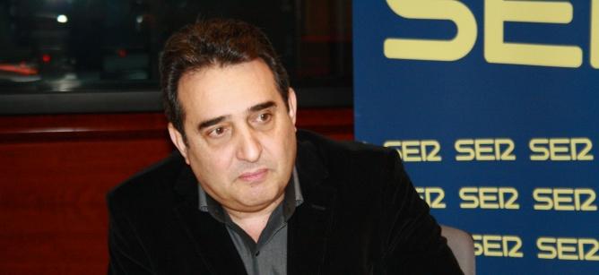 Manuel Bustos en una entrevista a Ràdio Barcelona, el gener de 2013