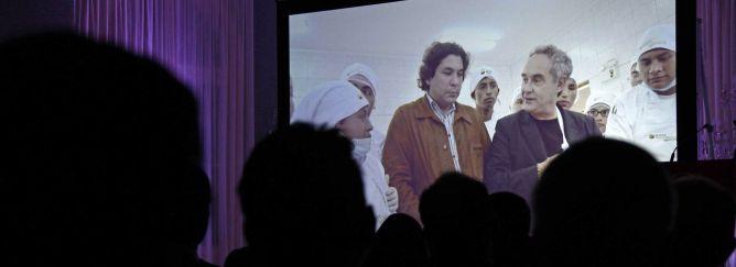 Imagen de la primera proyección del documental 'Perú sabe: la cocina, arma social', en Barcelona, en octubre de 2012.