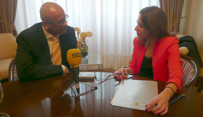 Ana Terradillos entrevista a Ram Manikkalingam, coordinador del Comité de Verificación Internacional